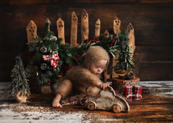 Studio Fotograficzne Karolina Magnowska - boże narodzenie 2020 - sesja dziecięca