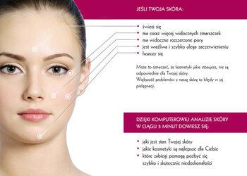 Instytut Kosmetologii Twarzy i ciała MONROE - analiza komputerowa skóry + konsultacja z kosmetologiem