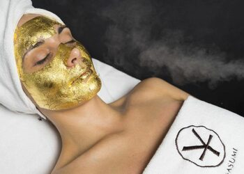 YASUMI - złota maska - 24k gold mask treatment