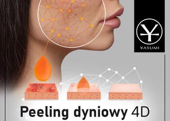 YASUMI Warszawa Gocław - Instytut Zdrowia i Urody  - peeling dyniowy 4d