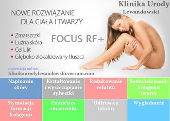 KLINIKA URODY LEWANDOWSKI - fala radiowa rf focus ciało