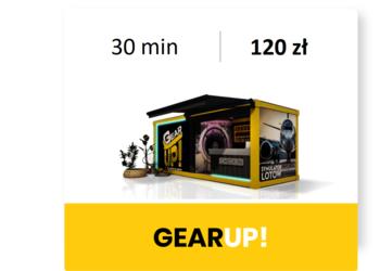 GearUP! Symulator lotu B737 - m1: lot 30 min
