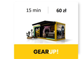 GearUP! Symulator lotu B737 - m1: lot 15 min
