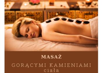 Studio Pemodelan - Gabinet Zdrowego Ciała - 2. masaż gorącymi kamieniami - promocja
