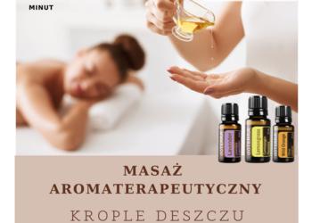 """Studio Pemodelan - Gabinet Zdrowego Ciała - 3. masaż aromaterapeutyczny """"krople deszczu""""- nowość!!! - promocja!"""