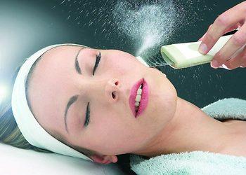 Instytut Kosmetologii Twarzy i ciała MONROE - peeling kawitacyjny + maska kremowa/ glinka