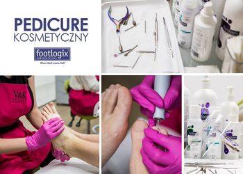 V&K Cosmetic - pedicure z hybrydą na stopach
