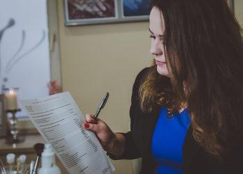 Vessna gabinet kosmetyczny Paulina Ostrowska - konsultacja przed zabiegiem