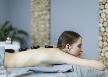 FIVE SENSES float spa - masaż gorącymi kamieniami 60 min