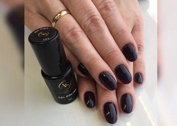 Studio Paznokcia AS Professional Beauty - utwardzenie naturalnych paznokci żelem + hybryda