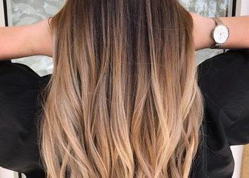 Bogna Hair Design - ombre z kolorem