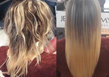 SHE DAY SPA&HAIR DESIGN - jean paul myné adamantium zabieg wygładzający włosy / smoothing treatment of hair