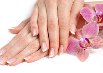 Francuzeczka - manicure japoński