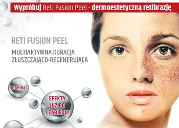 "Salon ""EVITA"" - dermokosmetyczna retibrazja - reti fusion peel"