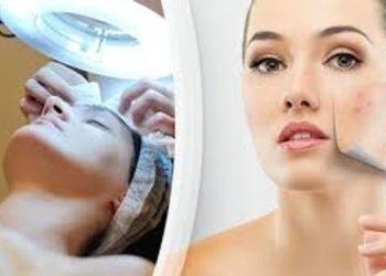 """Salon """"EVITA"""" - oczyszczanie twarzy"""