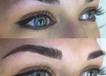 Salon Kosmetyczny Sekrety Urody - 4 makijaż permanentny brwi microblading + soft powder +korekta