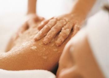 Studio Pemodelan - Gabinet Zdrowego Ciała - 1. cytrusowy peeling  - przygotowuje skórę do wchłaniania składników aktywnych - jako dodatkowa usługa do masażu ciała